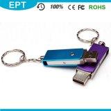 Metal Mini USB Flash Drive Logotipo personalizado Pen Drive