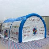 Горячая продажа надувной лужайке военных кемпинг Палатка для продажи