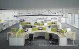 Boîtier linéaire moderne de bureau pour le poste de travail de 6 personnes (HF-K08)