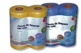Famiglia Daily Nonwoven Disposable Cleaning Cloth su Roll