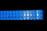 Correia modular de Ammeraal Qnb para a máquina de empacotamento (séries de HarQNB)