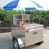 Remorque remorquable de nourriture à vendre, camion mobile Jy-B3 de nourriture
