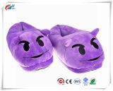 Divertido lindo cálido invierno Unisex Cherioll Emoji zapatos zapatillas adultos