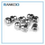A2 acier inoxydable A4 la calotte du dôme d'écrous hexagonaux DIN1587