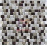 不規則なサイズの水晶石造りのブレンド様式のモザイク(CS214)