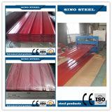 屋根ふきの建物のためのPPGI Pre-Painted波形の鋼板