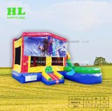 Kids를 위한 동결된 Elsa Giant Inflatable Combo Bouncy Slide Castle