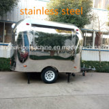 Carrelli mobili dell'alimento del chiosco dell'alimento dell'acciaio inossidabile da vendere Jy-B54