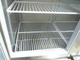 Porta de vidro de luxo cozinha de resfriamento por ventilador frigorífico congelador Vertical