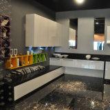 알루미늄 프레임 유리제 문 Liftup 부엌 벽 내각 부엌 가구 새로운 부엌 디자인