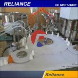 Hochgeschwindigkeitsaugen-Absinken-sterile flüssige Plomben-, Zustöpselnund Mit einer Kappe bedeckenmaschine