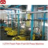 Doppia macchina dell'estrazione dell'espulsore dell'olio di palma della vite