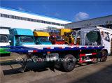 DFAC 130HP 공장 가격을%s 평상형 트레일러 구조차 견인 Truck/4X2 구조차