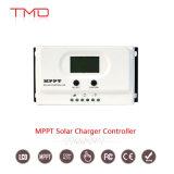 Ano-Garantia solar 24 15A do controlador 2 de 10A/20A/30A/40A MPPT 12V/24V