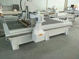 Le travail du bois Double chefs CNC routeur pour la gravure de meubles de la machine