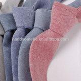 熱い販売の平野の純粋な綿メンズ均一ビジネスChambrayのネクタイ