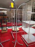 Cremalheira personalizada do girador do metal de folha para as peças da fabricação de metal da folha e o gancho do metal
