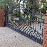 鉄のメインゲート力のコーティングの鋼鉄管のゲート