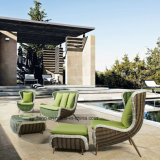 Moderno UV Resistência PE Rattan Waterproof Outdoor Sofa Set by 5-Seat (YT896)