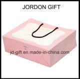 Sacos de papel de empacotamento do presente feito sob encomenda elegante elegante da jóia do projeto do logotipo
