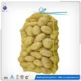 personalizado 25kg PE Saco Raschel para batatas