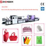 Saco de compra não tecido da tela que faz a máquina com alta qualidade Zxl-E700