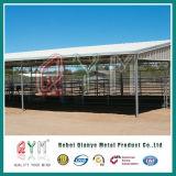 Загородка лошади покрытия PVC панели загородки скотин строба выгона лошади