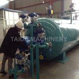 Válvulas Spirax Sarco vulcanização da borracha autoclave a vapor industrial com a Siemens PLC