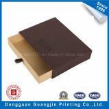 Caja de cartón rígida de papel por encargo con el cajón
