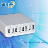 8A 5V 40W con cargador de viaje USB 8 puerto USB cargador de escritorio Teléfono Móvil de la estación de carga