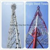 4개의 다리 삼각형 강철 통신 타워