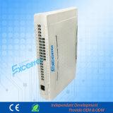 PBX Teléfono de intercomunicación Sistema CS + 424 4 Co líneas 24 extensiones
