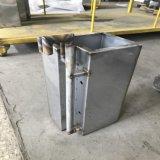 Feuille de métal de la soudure d'usinage CNC de fabrication de pièces en aluminium
