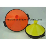 Cubierta plegable del silicón para el Cookware con el certificado del FDA