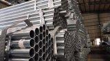 Tubo de acero galvanizado para la construcción del invernadero y del agua