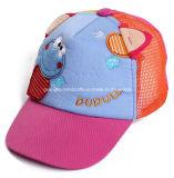 100%年の綿の多彩でかわいい6つのパネルの子供の帽子