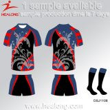 La conception de la jeunesse Custom-Made Healong OEM sublimé Club de Rugby uniforme de sport
