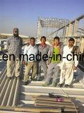 Costruzione prefabbricata del magazzino della struttura del blocco per grafici d'acciaio