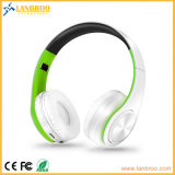 Faltende Bluetooth Kopfhörer-drahtlose Stereomusik kompatible PC/Mobile/TV/Micro Karte Ableiter-TF