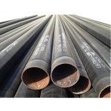 PE revestidos de esgotos subterrânea Anticorrosão de tubo de aço em espiral