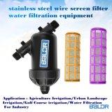 Y de Filters van het Scherm van de Deeltjes van het Water van de Fontein van het Type Bsf080y/de Apparatuur van de Filtratie van het Scherm van het Roestvrij staal