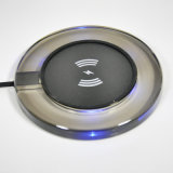 Qi bestätigte die drahtlose schnelle aufladenauflage, die für Qi-intelligente Standardtelefone allgemeinhin ist