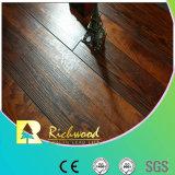 12,3mm AC4 Lado Raspadas Cherry piso laminado com ranhuras em V