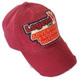 Chapéu lavado do paizinho do basebol com logotipo Gj1708c
