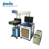 máquina de la marca del laser del CO2 50W sobre el vidrio/caucho/precio plástico/de madera