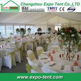 Pequena Parte Maquee de alta qualidade tenda de casamento com Cobertura em PVC branco