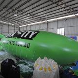 광고를 위한 팽창식 비행선 또는 팽창식 Zeppelin