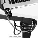 Serratura variabile del calcolatore della serratura di combinazione della serratura del cavo del computer portatile di alta obbligazione