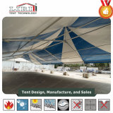 tenda trasparente di lusso della festa nuziale dell'alto picco di alta qualità di 9X18m da vendere