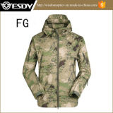 Tactical Tan Cor Men Military Caça Casaco Waterproof Jacket